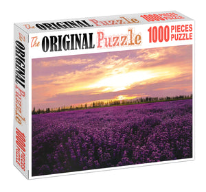 Tulip Sunset Wooden 1000 Piece Jigsaw Puzzle Toy For Adults and Kids