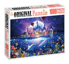Dream Land Disney is Wooden 1000 Piece Jigsaw Puzzle Toy For Adults and Kids