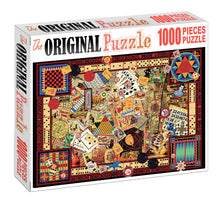 Cards Monoply Board is Wooden 1000 Piece Jigsaw Puzzle Toy For Adults and Kids