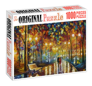 Music of Rain Wooden 1000 Piece Jigsaw Puzzle Toy For Adults and Kids