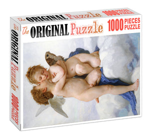 Cupids is Wooden 1000 Piece Jigsaw Puzzle Toy For Adults and Kids
