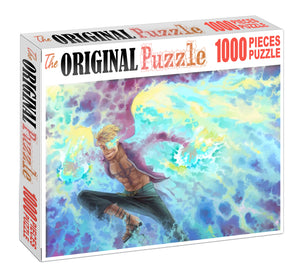 White Beard's Phoenix Wooden 1000 Piece Jigsaw Puzzle Toy For Adults and Kids