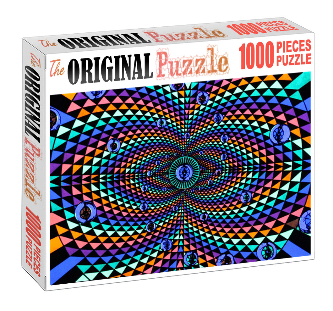 Mirror Reflection is Wooden 1000 Piece Jigsaw Puzzle Toy For Adults and Kids
