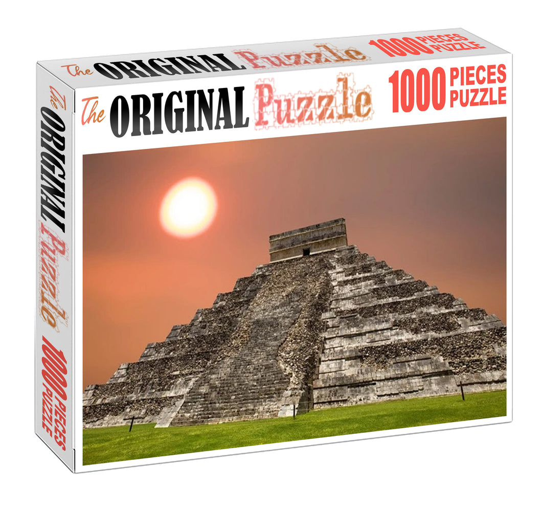 Eclipes Pyramid Wooden 1000 Piece Jigsaw Puzzle Toy For Adults and Kids