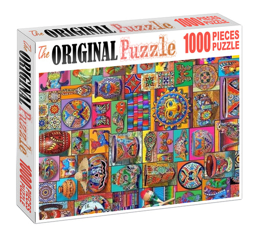 Art and Carft Wooden 1000 Piece Jigsaw Puzzle Toy For Adults and Kids