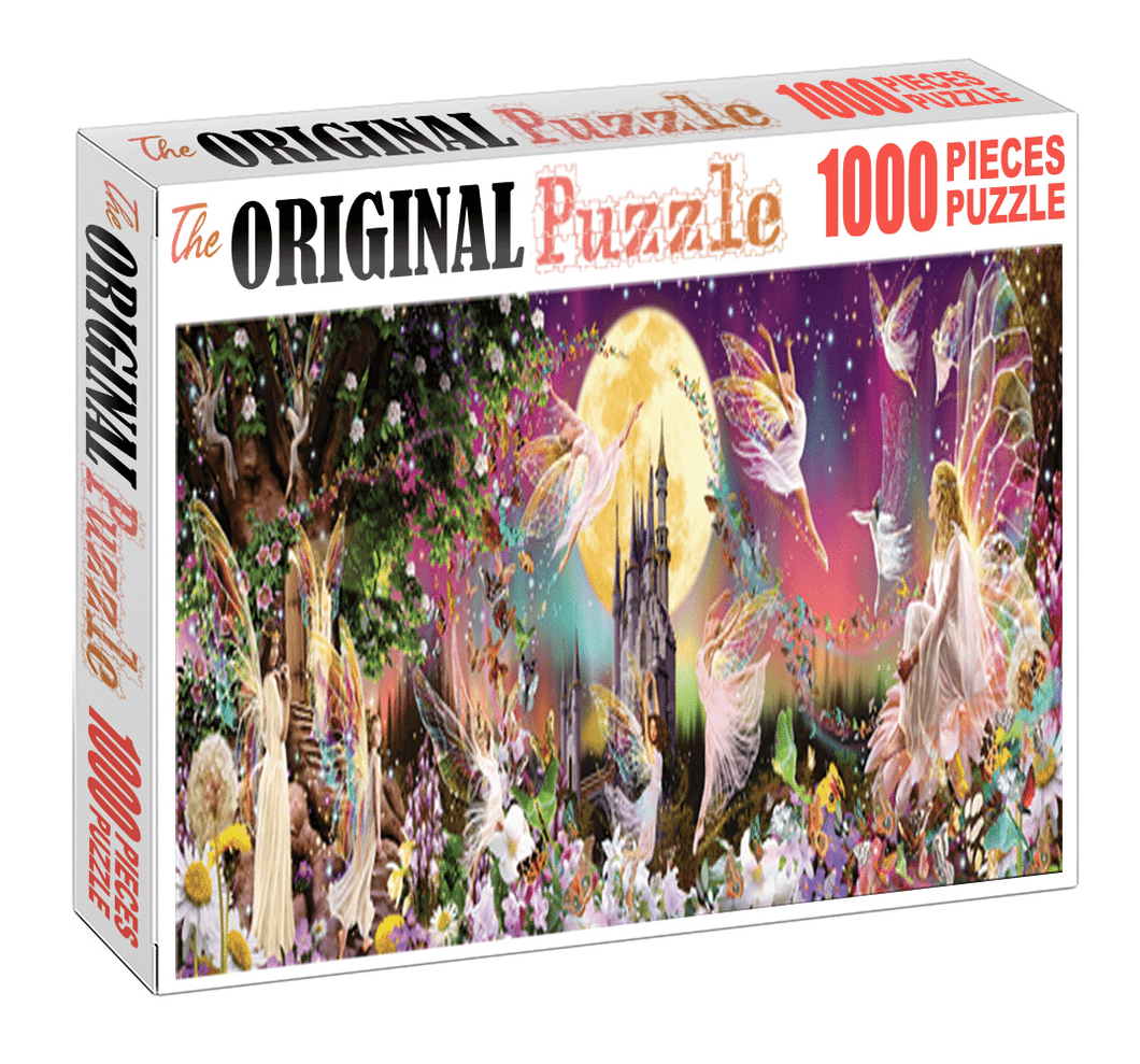 Fairy World is Wooden 1000 Piece Jigsaw Puzzle Toy For Adults and Kids