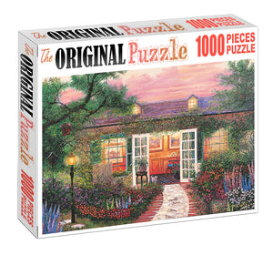 Welcome of Home is Wooden 1000 Piece Jigsaw Puzzle Toy For Adults and Kids