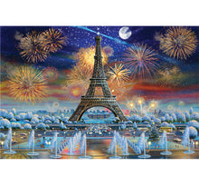 50th Aniversary of Eiffel Tower Wooden 1000 Piece Jigsaw Puzzle Toy For Adults and Kids