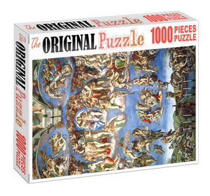 Forgotton Gods is Wooden 1000 Piece Jigsaw Puzzle Toy For Adults and Kids