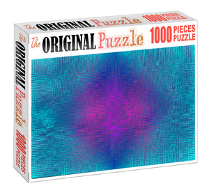 Fabric Color Gradiant Wooden 1000 Piece Jigsaw Puzzle Toy For Adults and Kids
