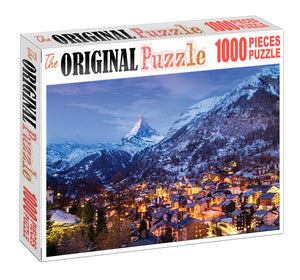 Himalayan View Point Wooden 1000 Piece Jigsaw Puzzle Toy For Adults and Kids
