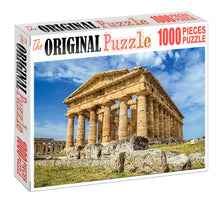 Roman Architecture is Wooden 1000 Piece Jigsaw Puzzle Toy For Adults and Kids