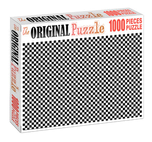 Checker Wooden 1000 Piece Jigsaw Puzzle Toy For Adults and Kids
