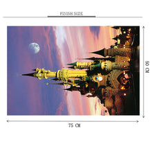 Disney Park is Wooden 1000 Piece Jigsaw Puzzle Toy For Adults and Kids
