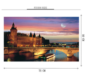 England Palace is Wooden 1000 Piece Jigsaw Puzzle Toy For Adults and Kids
