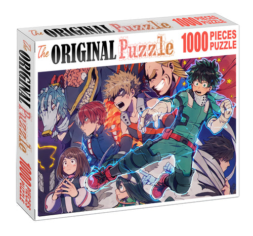 Boku no Hero Academia Wooden 1000 Piece Jigsaw Puzzle Toy For Adults and Kids