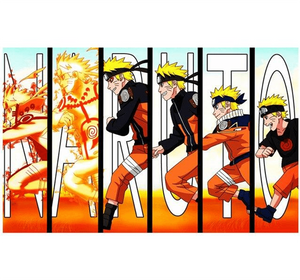 Naruto Transform Wooden 1000 Piece Jigsaw Puzzle Toy For Adults and Kids
