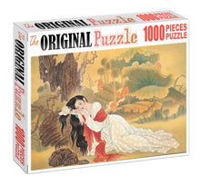 Sleeping Beauty is Wooden 1000 Piece Jigsaw Puzzle Toy For Adults and Kids