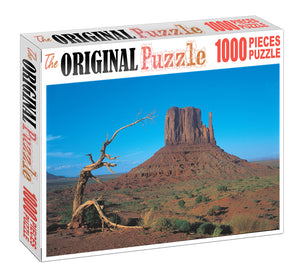 Canyon Mountain is Wooden 1000 Piece Jigsaw Puzzle Toy For Adults and Kids