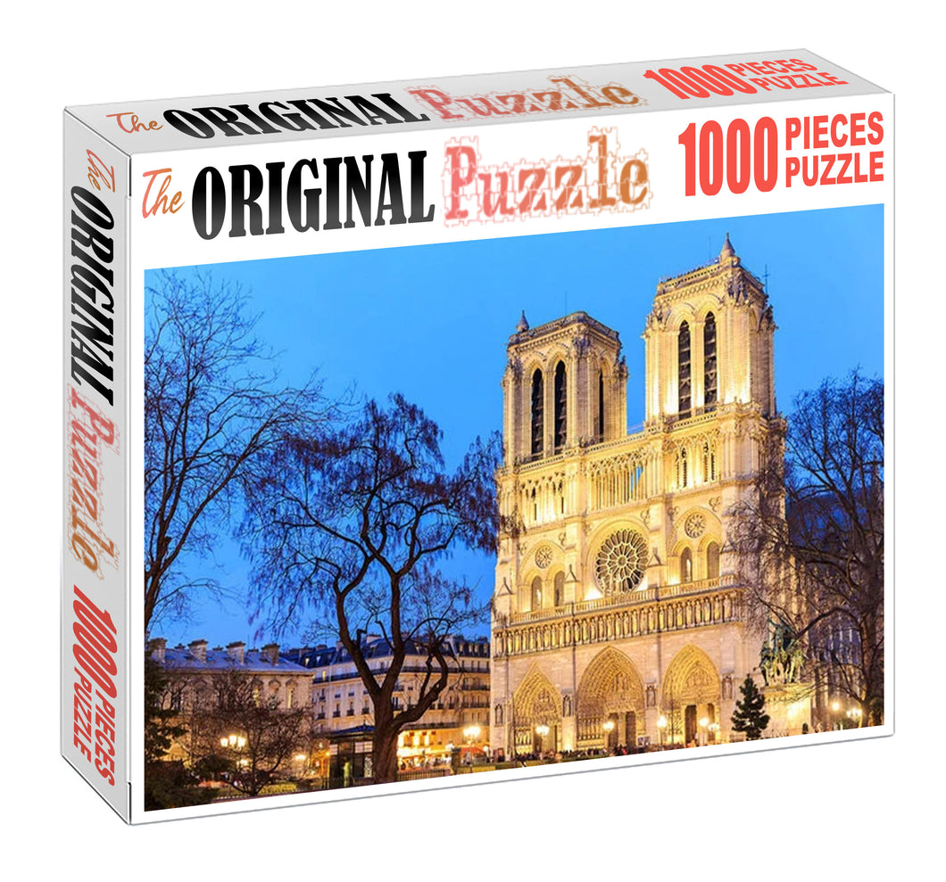 Twin Tower Wooden 1000 Piece Jigsaw Puzzle Toy For Adults and Kids