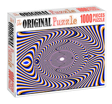 Illusion Art Wooden 1000 Piece Jigsaw Puzzle Toy For Adults and Kids