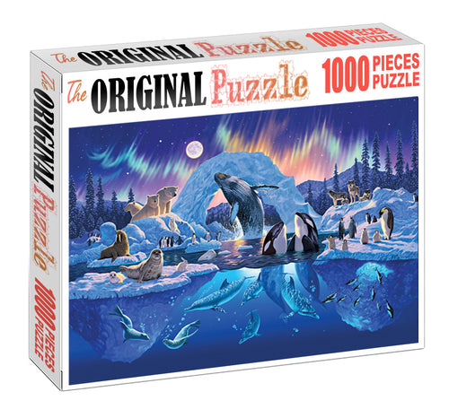 Two World is Wooden 1000 Piece Jigsaw Puzzle Toy For Adults and Kids