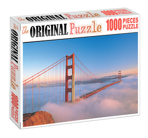 Cloud Bridge is Wooden 1000 Piece Jigsaw Puzzle Toy For Adults and Kids