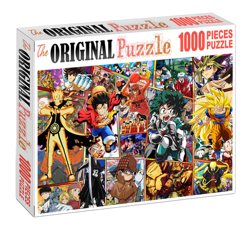 Naruto Final Season Wooden 1000 Piece Jigsaw Puzzle Toy For Adults and Kids