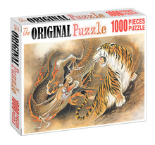 Tiger vs Dragon is Wooden 1000 Piece Jigsaw Puzzle Toy For Adults and Kids