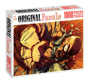 One-Punch Rage Wooden 1000 Piece Jigsaw Puzzle Toy For Adults and Kids
