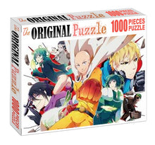 One-Punch Cast Team Wooden 1000 Piece Jigsaw Puzzle Toy For Adults and Kids