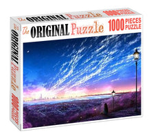 Waiting for Someone Wooden 1000 Piece Jigsaw Puzzle Toy For Adults and Kids