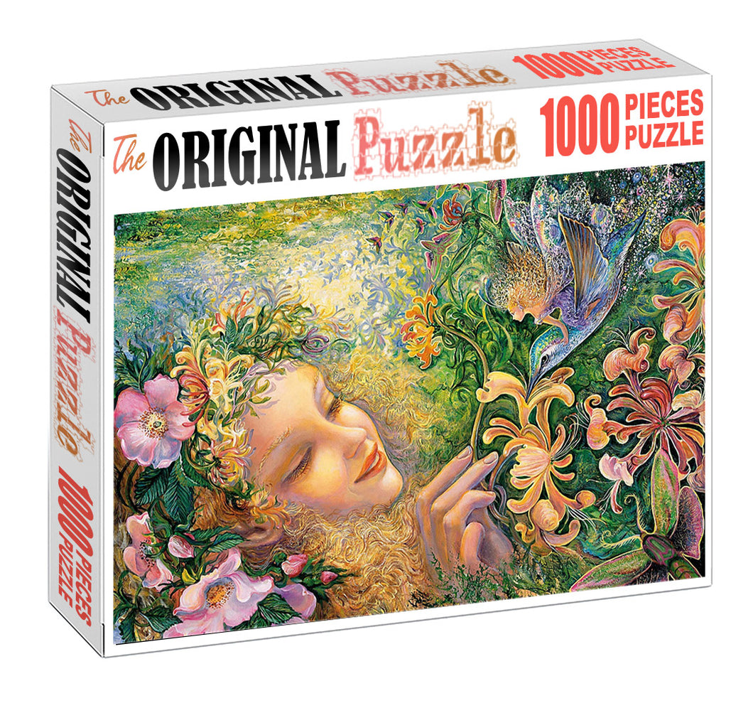 God of Nature Wooden 1000 Piece Jigsaw Puzzle Toy For Adults and Kids