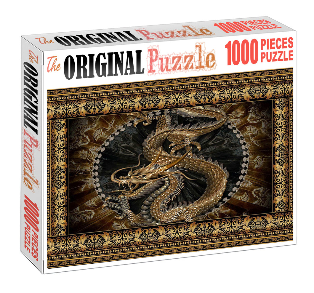 Dragon Madolian is Wooden 1000 Piece Jigsaw Puzzle Toy For Adults and Kids