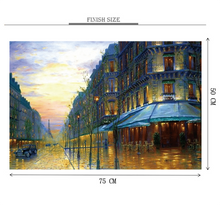 City Perspective Art Wooden 1000 Piece Jigsaw Puzzle Toy For Adults and Kids