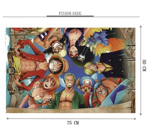 One Piece Face Off Wooden 1000 Piece Jigsaw Puzzle Toy For Adults and Kids