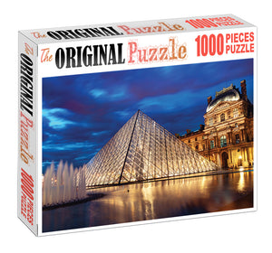 House of Glass is Wooden 1000 Piece Jigsaw Puzzle Toy For Adults and Kids