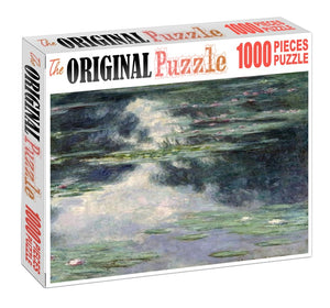 River of Spirulina Wooden 1000 Piece Jigsaw Puzzle Toy For Adults and Kids