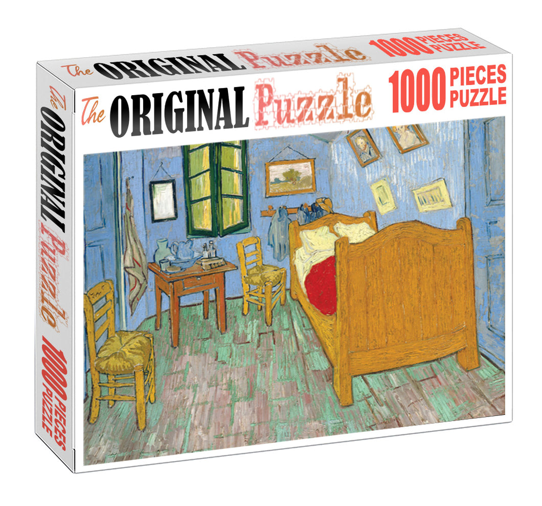 Poo Bear Bedroom is Wooden 1000 Piece Jigsaw Puzzle Toy For Adults and Kids
