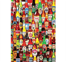Beer Bottles Wooden 1000 Piece Jigsaw Puzzle Toy For Adults and Kids