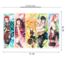 Kimetsu no Yaiba Anime Wooden 1000 Piece Jigsaw Puzzle Toy For Adults and Kids