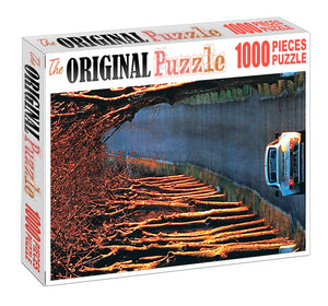 Long Drive Wooden 1000 Piece Jigsaw Puzzle Toy For Adults and Kids