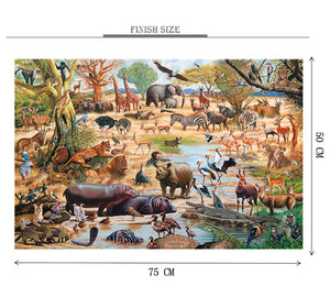 Zootopia is Wooden 1000 Piece Jigsaw Puzzle Toy For Adults and Kids