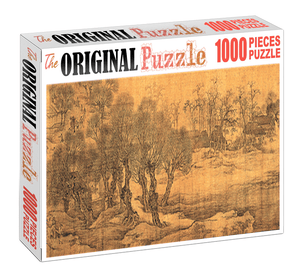 Destroyed Forest is Wooden 1000 Piece Jigsaw Puzzle Toy For Adults and Kids