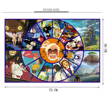 Kidz Anime is Wooden 1000 Piece Jigsaw Puzzle Toy For Adults and Kids