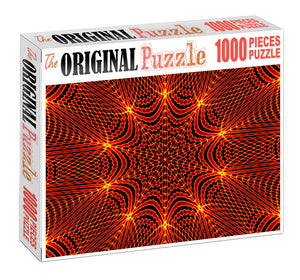 Fire Prism Art Wooden 1000 Piece Jigsaw Puzzle Toy For Adults and Kids