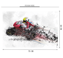 Motor Bike Racer Wooden 1000 Piece Jigsaw Puzzle Toy For Adults and Kids