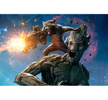 Rocket and Groot Wooden 1000 Piece Jigsaw Puzzle Toy For Adults and Kids