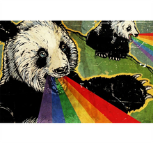 Panda Rainbow Wooden 1000 Piece Jigsaw Puzzle Toy For Adults and Kids