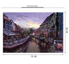 Riverside Hotel Wooden 1000 Piece Jigsaw Puzzle Toy For Adults and Kids